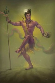 Shiva dances and puts the great cosmic cycle into motion.