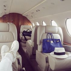 On a Private Jet, You Can See Forever - -Wmag
