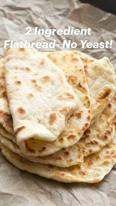 Indian Food Recipes, Keto Recipes, Vegetarian Recipes, Cooking Recipes, Healthy Recipes, Gluten Free Recipes, Dairy Free Greek Yogurt, Gluten Free Flatbread, Recipe For Flatbread
