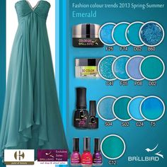 Emerald Nail Shop, Fashion Colours, Beauty Nails, Color Trends, Gel Polish, Swatch, Emerald, Spring Summer, Nail Art
