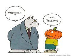Halloween ? Non, Monsanto !