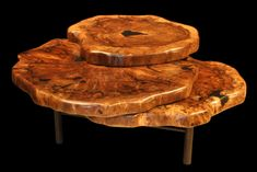 No Legs Wood Stump Coffee Table More Tree Slices To Stack Up For Extra Tops When Needed Trunk Ideas Unique Furniture The