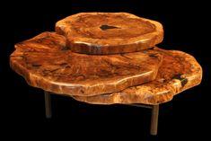 tree stump coffee table - Google Search