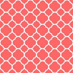 pattern in coral color - Google Search Coral Wallpaper, Coral Pattern, Pretty Backgrounds, Quatrefoil, Color Of The Year, Coral Color, Color Patterns, Girly, The Originals