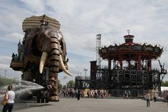 Le voyage à Nantes The big elephant