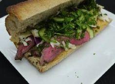 Asian Beef Sandwiches w/ Slaw