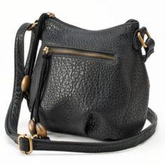 Kohls SONOMA life + style Fringe Crossbody Bag