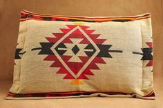 Pillow Sham, Diamond, TanMade from the same yarn as our Native American bedspreads these classic pillow shams are a perfect compliment for any bedroom. Southwestern Bedding, Fire Pit Grate, Classic Pillows, Native American Fashion, Bed Spreads, American Indians, Pillow Shams, Nativity, Throw Pillows