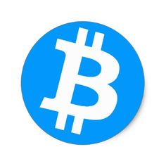 Bitcoin Logo Symbol Cryptocurrency Crypto Sticker