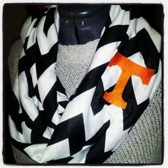 Embroidered Tennessee Vols Chevron Spring by Noetimetobeserious, $25.00
