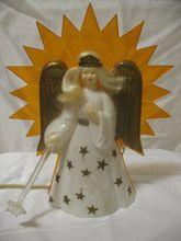 1950's-60's Light Up Christmas Angel