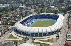 La arquitectura icónica de este arquitecto Colombiano. Estadio. Acabados aquitectónicos. Encuentra dónde comprar este diseño y Producto en Colombia.