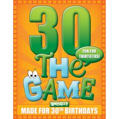 30th Birthday Game
