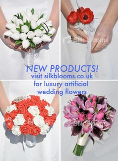 Artificial silk wedding bouquets and flowers for your wedding silk new products added to the silk blooms online catalogue hundreds of new wedding flower designs from bridal bouquets to bridesmaids buttonholes mightylinksfo