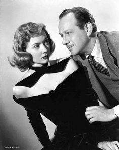Melvyn Douglas and Gloria Grahame, A Woman's Secret (1949)
