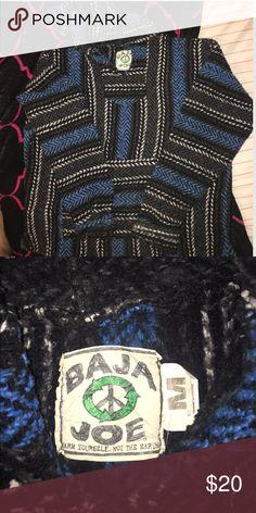 """Baja Joe Drug Rug Super cute and warm """"drug rug"""" no flaws great condition Baja Joe Jackets & Coats"""