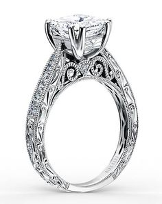Kirk Kara Stella Collection K161ESL Stella Collection K161ESL Engagement Ring and Kirk Kara Stella Collection K161ESL Stella Collection K161ESL Wedding Ring