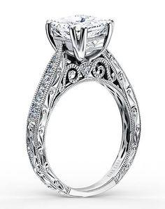 Kirk Kara Stella Collection K161ESL Stella Collection K161ESL Engagement Ring and Kirk Kara Stella Collection K161ESL Stella Collection K161ESL Wedding Ring
