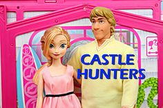 DisneyCarToys - Frozen Anna and Kristoff look for a new house in Castle Hunters, similar to House Hunters.