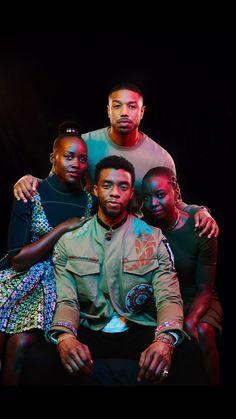 Cast of Marvel Studios'Black Panther
