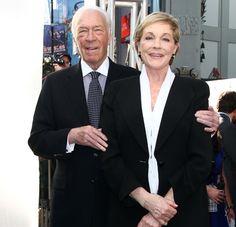 Julie Andrews et Christopher Plummer fêtent les 50 ANS de The Sound of Music | HollywoodPQ.com
