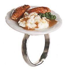 Classic British Dish Sausage And Mash Ring from ShmooBamboo