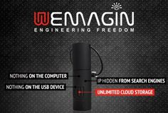 WEMAGIN Smart USB Drive Protects Your Privacy And Offer Unlimited Cloud Storage. The small smart USB drive allows you to surf and storing documents in privacy and contains its own Internet browser which is completely untraceable on the computer you are using it on. Check out the video after the jump to learn more about this new privacy solution.