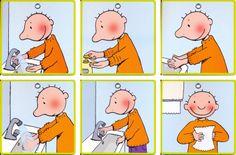 Stappenplan Jules - handen wassen