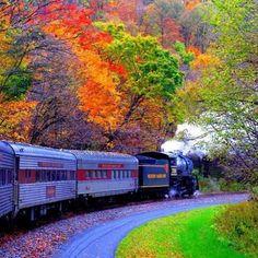 Beautiful+Autumn+Scenes | Beautiful autumn scene | Favorite Places & Spaces