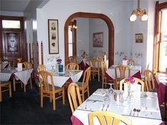 Visit the historic James Sheeley House Restaurant at 236 W. River St., Chippewa Falls, WI.
