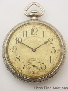 South Bend Grade 219 19J 3 Finger Bridge Antique Mens Pocket Watch #SouthBend