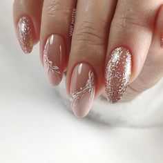 The advantage of the gel is that it allows you to enjoy your French manicure for a long time. There are four different ways to make a French manicure on gel nails. The choice depends on the experience of the nail stylist… Continue Reading → Winter Nail Art, Winter Nails, Spring Nails, Winter Wedding Nails, Summer Nails, Cute Nails, Pretty Nails, My Nails, Dark Nails