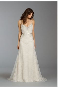I would love this for a reception dress!!