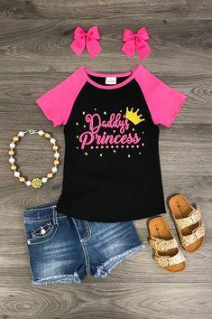"""Daddy's Princess'"" T-Shirt"