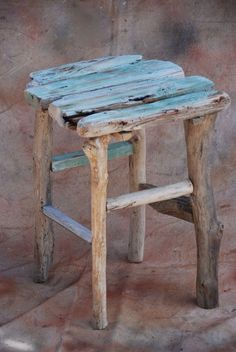 This isn't aqua, but if sure is pretty., feminine and rustic.