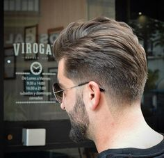 "vintagebarbershop: ""menshairstyletrends: "" Haircut by @virogas.barber on Instagram http://ift.tt/1UOwif0 Find more cool hairstyles for men at http://ift.tt/1eGwslj and http://ift.tt/1LLP91m "" ES SVQ: Viroga's Barbershop Calle Plocia Nº3 Cádiz,..."