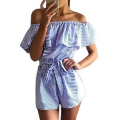 - Material: Polyester & Cotton - Fashion casual style rompers for women for daily activities, sexy and charming, making you attractive. - Comfortable and soft jumpsuit make you feel cool in the summer,make you look sexy covered. - Sexy womens rompers elegant style for daily casual,home,party, club, prom, wedding,office or other occasion. - Ideal gift for,Birthday,Valentine's Day Christmas , beach vacations, summer beach or any other holiday.