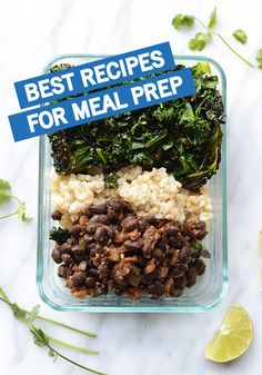 Whether you're living alone or cooking for your whole family, meal prepping is for you! These healthy and delicious recipes are great for weekly meal prep. Click to discover the perfect meals for breakfast, lunch, dinner and snacks. You're going to be so happy you tried out these great tips and tricks to save you time in the kitchen!