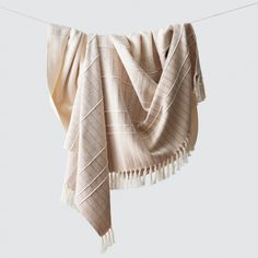 We partner with artisans to create modern goods for the well-traveled home. Modern Blankets, Bath Linens, Basket Decoration, Cotton Blankets, Boho Decor, Decorative Throw Pillows, Bohemian Style, Hand Weaving, Style Inspiration
