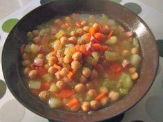 Zuppa di ceci - Ricette di cucina Il Cuore in Pentola