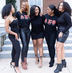Delta Sigma Theta, Alpha Kappa Alpha, Delta Girl, Sorority Outfits, Black Girls Rock, Beautiful People, Cute Outfits, Photoshoot, Greek Life