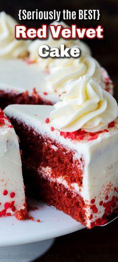 Homemade Red Velvet Cake, Best Red Velvet Cake, Best Chocolate Cheesecake, Chocolate Cake, Cup Cakes, Cupcake Cakes, Baking Recipes, Cake Recipes, Gluten Free Vanilla Cake