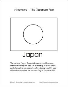 The Flag Of Japan Decorates This Printable Japanese Ancestry Chart