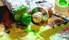 In mir grünt eine Idee. Und solang ich Lust auf Grün hab hab ich Lust auf Hoffnung. So.  #wandklex #malerei #handgemalt #acryl #auftragskunst #custompaint #comission #kunstatelier #acrylics #acrylfarbe #painting #meetthemaker #behindthescenes #atelier #artist #schmincke #palette