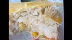 Torta de Frango Super Cremosa da Déby & Ian Ingredientes para a massa 3 colheres de sopa de fermento fresco 3 colheres de sopa de açúcar Sal 500mls de água m...