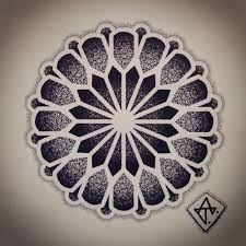 ideas tattoo geometric mandala for 2019 Dotwork Tattoo Mandala, Geometric Mandala Tattoo, Geometric Tattoo Design, Mandala Dots, Tattoo Abstract, Manga Mandala, Mandala Sleeve, Mandala Drawing, Dot Tattoos