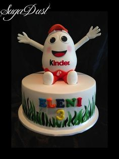 Kinder Surprise Cake by Mary @ SugaDust