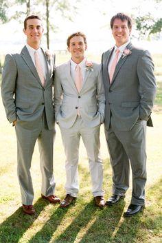 Perfect Grey Groomsmen Suits You Must See ❤ See more: http://www.weddingforward.com/grey-groomsmen-suits/ #weddingforward #bride #bridal #wedding