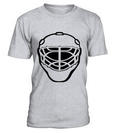 Ice Hockey Mask T-Shirt Goaltender Goalie Graphic Tee