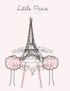 #Paris #Birthday #Party